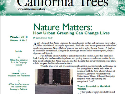 Million Tree Initiatives: Tools for Campaign Success