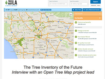 Interview: Tree Inventory of the Future